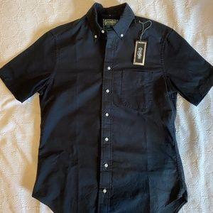 Gitman Vintage -  Men's Medium Black Oxford